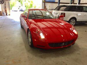 Ferrari service Ferrari repair Scaglietti F1