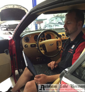 Bentley diagnostic computer dealer alternative specialist