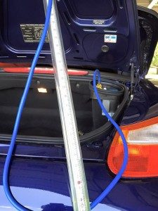Air/Oil Seperator (AOS) diagnosis on a Porsche Boxster