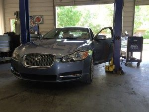 Electrical diagnosis on a Jaguar XF