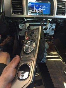 Fautly shifter in a Jaguar XF