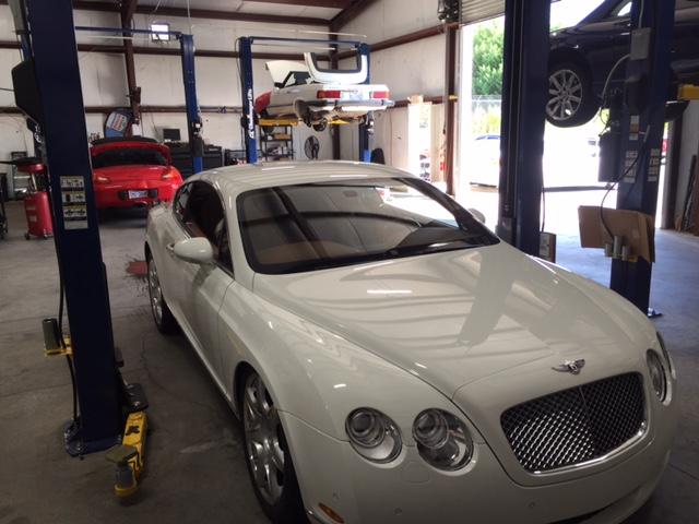 Bentley Continental GT GTC Flying spur air suspension repair