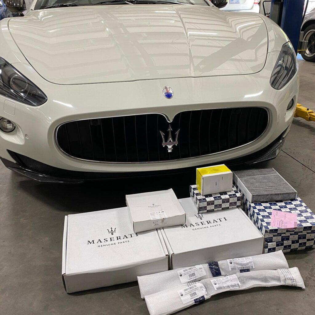 Maserati GranCabrio GranTurismo Ghibli M145 M156 M157 Service and repair with genuine Maserati Parts (original)